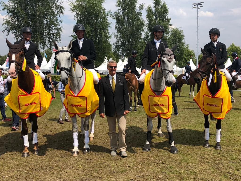 NZ Team Winning Aachen