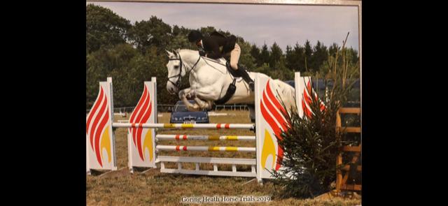 Mathew competing at the Arena Championships 2020 at Weston Lawns